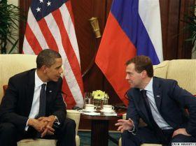 Barack Obama e Dmitrij Medvedev