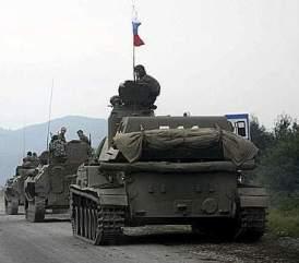 Tank russi in Georgia
