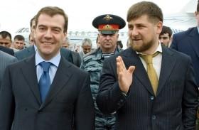 Medvedev e Kadyrov