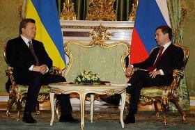 Janukovic e Medvedev