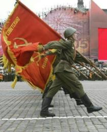 Parata militare sulla Piazza Rossa