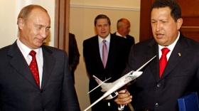 Chavez con Putin