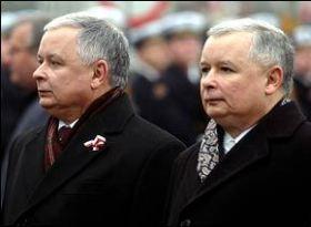 Lech e Jaroslaw Kaczynski