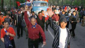Gli scontri nel Kirghizistan meridionale