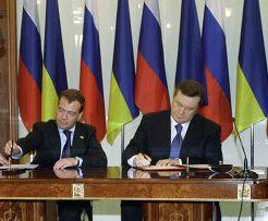 Medvedev e Janukovic
