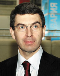 Il ministro Igor Shegolev