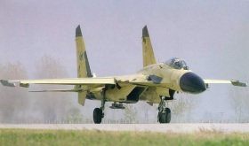 Il nuovo jet cinese J-11B