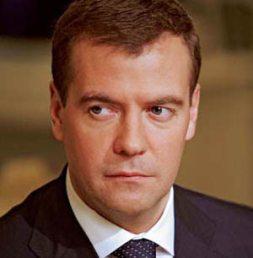 ll presidente russo Medvedev