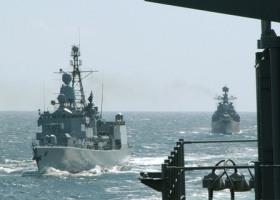 Due navi della flotta russa
