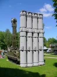 Una batteria missilistica antiaereo S-300
