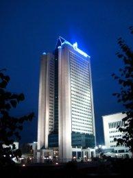 Il quartier generale della Gazprom a Mosca