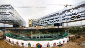 Edifici in costruzione a Skolkovo