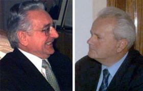 Tudjman e Milosevic
