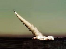 Il lancio di un missile Bulava