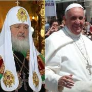 Kirill I e Papa Francesco