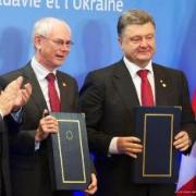 Van Rompuy con Poroshenko