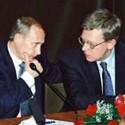 Vladimir Putin e Aleksej Kudrin