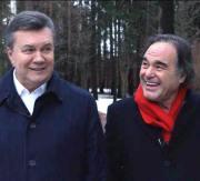 Oliver Stone e Viktor Yanukovic