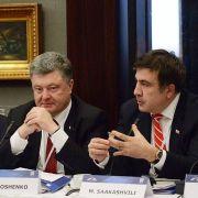 Poroshenko con Saakashvili