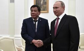 Vladimir Putin con Rodrigo Duterte (credits: Kremlin.ru)